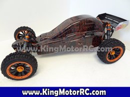 Wholesale Brushless Buggy Rtr - Wholesale-Free Shipping!!! 1 5 Scale Zonda 1 30.5cc Baja Buggy RTR (wild red)