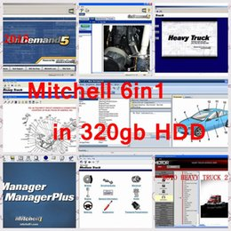 Wholesale Mitchell Repair - Latest Mitchell ondemand 5.8 2015V 161gb+mitchell manager plus+mitchell&moto heavy truck+mitchell Ultramate7 6in1 with 320GB Free Shipping