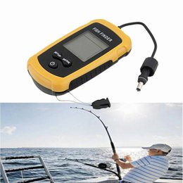 Wholesale Detector Fish - Portable Sonar Fish Finder Fish Detector with LCD display Fishing Assistance