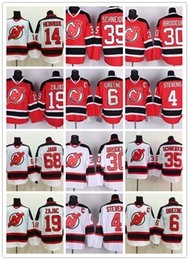Wholesale Scott Red - Mens New Jersey Devils Hockey Jersey 30 Martin Brodeur 35 Cory Schneider 9 Taylor Hall 6 Andy Greene Adam Henrique Scott Stevens Jersey