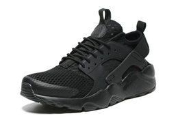 Wholesale Mens Balance Shoes - 2016 Top Mens Running Shoes Black Sports Shoes Casual Outdoor Shoes Fashion Athletic Shoes High Balance Shoes New Flat Sneakers