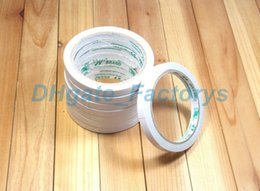 Wholesale Carton Sealing Packing Tape - Double Sided Tape Office and School Stationery Adhesive Tape Packing Tape Width 0.8 cm, 9.5m Length