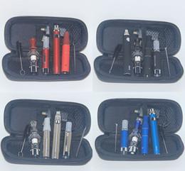 Wholesale Vapor Pen For Herbs - 3 in 1 Vaporizer Starter Kit for Vapor MT3 Oil Ago Dry Herb Glass Globe Wax Dome Evod Batteries Vape Pen E Cigs