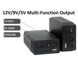 Wholesale 12v Usb Power - 79.2W 12V Lithium-ion Battery Pack Backup Power Supply With 12V 9V 5V USB output