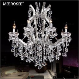 Wholesale Crystal Beads For Lamps - New!Authentic Crystal Chandelier lamp Modern Chandelier crystal Beads Luxurious Decorative lighting for home D780mm H800mm