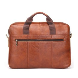 "Wholesale Metallic Laptop - 2017 CONTACT'S Business Genuine Leather Men Briefcase Cowhide Men's Messenger Bags 14"" Laptop Business Bag Luxury Lawyer Handbag Briefcases"