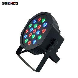 Discount american dj par led - American DJ LED Flat Par 19x3W Lighting No Noise 19x3W RGB 7Channels for DJ Disco KTV Party,SHEHDS Stage Lighting