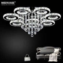 Flush mounted LED Chandelier Light New design Clear chandelier lighting  Modern Crystal Ring Light Fixture for Ceiling LED Lamp from dropshipping  suppliersCanada New Ceiling Design Living Room Supply  New Ceiling Design  . Living Room Light Fixtures Canada. Home Design Ideas