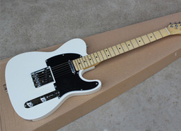Wholesale Maple Fingerboard White - Wholesale High Quality Telecaster Maple Fingerboard White US Standard Electric Guitar Chrome Hardware Free Shipping
