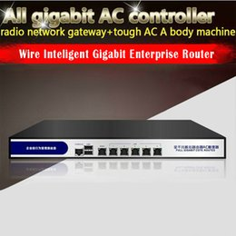 Wholesale Core Wire Stockings - High speed X86 dual core AC router gigabit lan support 3.5G ipsec vpn ssl vpn load balancing Qos with monitor port vpn firewall router