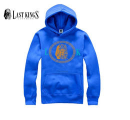 Wholesale Street Sweatshirt Collar - High Quality Color Black Gray Solid Mens Last Kings hoodies and Sweatshirts Sports for Street Wear Sweatshirt men xxxl