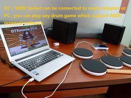 Jeu de batterie, Jeu de batterie électronique, Kit de batterie d'apprentissage, Télécommande numérique, Nouveaux cadeaux pour instruments de musique jouets ? partir de fabricateur
