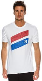 Wholesale Icon T Shirts - New Hurley Men's Icon Slash Push Through Ss Tee Crew Neck Short Sleeve Pu White Cheap Sale 100 % Cotton T Shirts for Boys