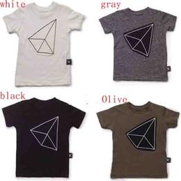 Wholesale Bebe T Shirts - 2016 summer kids nununu tee tops bobo T-shirt boys girls t shirt baby bebe family matching outfits clothing