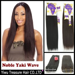 """Wholesale Hair Extension Noble - Wholesale-New Perfume Noble Yaki Wave 8"""" 10""""12""""14"""" Color 1,1b,2,4 Real Hair Blended Extensions Pieces Premium Quality"""