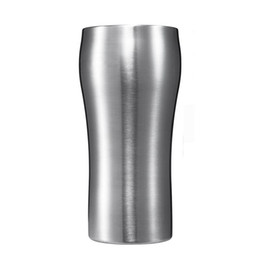Wholesale Quality Coffee Cups - 2016 Simple mugs hight quality 304 stainless steel hot and cold dual-use tea cups beer coffee mug 420ml