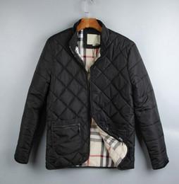 Wholesale Classic Pads - Classic Hot men england short thin cotton padded coat designer brand man warm jackets Mens Down jacket parkas size M-2XL