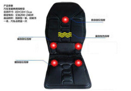 Wholesale Warming Seat Cushion - Hot sale new hot Universal Black Polyester CE EMARK Certification AUTO Car Seat Heating Warming Massage Cushion Free shipping