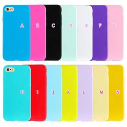 Wholesale Crystal Blue Candy - Fashion Bling Soild Candy Soft TPU Gel Case For iPhone7 Iphone 7 7g 7th I7 4.7'' 2016 Glossy Luxury Crystal Colorful Silicone Plain Skin