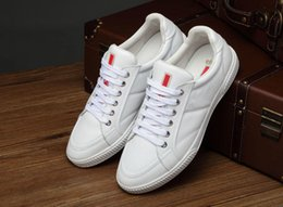 Wholesale Newest Designer Sneakers - 2016 newest low top shoes for men brand Designer High quality casual shoes luxury Genuine Leather scarpe da sneakers free shipping