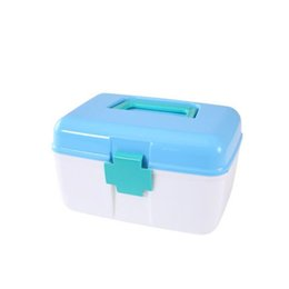 Wholesale Small Medicine Storage - Small medical kit home portable multilayer medical boxes storage box medicine organizer first aid kit home colorful kits