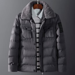 Wholesale Coats Border - Cross-border specifically for the new winter coat jacket thickened lapel collar cotton-padded jacket Europe and the United States popular
