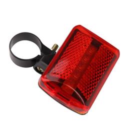 Wholesale Quality Led Lights Sale - Hot Sale Bike Bicycle 5 LED Rear Tail Light Cycling Red Light MTB Bike Safety Warning Flashing Lights Flashing Bulb High Quality