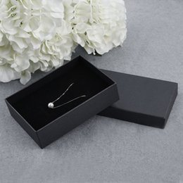Wholesale Casket Packaging Boxes - GENBOLI 6 Pcs pack Jewelry Organizer Boxes Casket For Pendants Necklace Bracelets Gift Display Stands Packaging