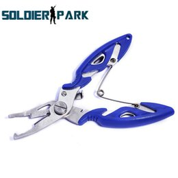 Wholesale Steel Grips - Mini Sea Tools Pesca Portable Fishing Hook Remover Line Cutter Fishing Grip Tackle Stainless Steel Fishing Lure Pliers Scissor order<$18no t