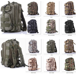 Wholesale Tactical Rucksacks - Retai l&Wholesale nylon 30L Outdoor Sport Military Tactical Backpack Rucksacks Camping Hiking Trekking Bag free shipping