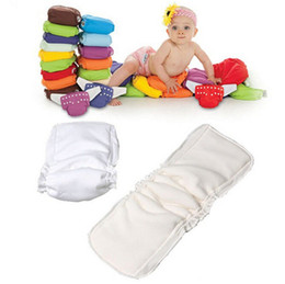 Wholesale Cloth Diapers Wholesale For Newborns - Bamboo Fiber Insert 5 Layers Bamboo Fiber Insert Liners For Cloth Diaper Nappy Changing Pad Reusable Diaper Bags Newborn