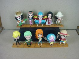 Wholesale One Piece Figures 5cm - 170618 QIUCHANY Anime MegaHouse Dimension Of One Piece Mini Two Years Later PVC 5CM Action Figure