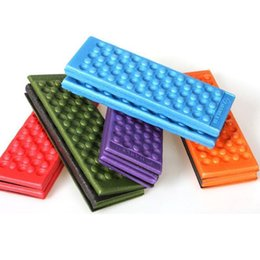Wholesale Eva Foam Mats - Outdoor Camping Folded Mat Waterproof and Moisture EVA Tent Cushion With Carry Bag Portable Seat Cushion