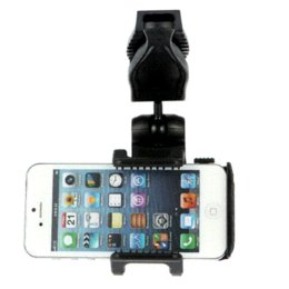 Wholesale Galaxy Visor - Hot Sale Universal Car Sun Visor Mount Holder Stand For Iphone 6 5S 5 For Samsung Galaxy S3 S4 Note 2 For