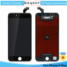 Wholesale Apple Display Parts - AAA Quality LCD For iPhone 6 plus 6Plus Display Touch Digitizer Complete Screen with Frame Assembly Replacement Repair Parts Free Gift
