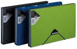 Wholesale Briefcase School - Wholesale-Plastic Briefcase Document Storage Folder Office School Supplies Large Capacity Professional File Bag 6 case package A4 file