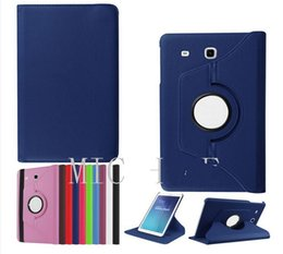 Wholesale Cover For Galaxy Tab3 - 360 Rotating PU leather folio stand case cover For 2016 Samsung Galaxy Tab A 7.0 T280 TAB A 8.0 T350