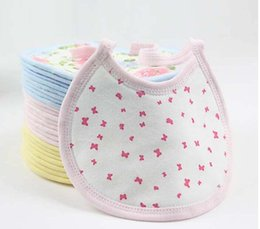 Wholesale Sandwich Bags Wholesale - 2016 New Free Shipping Hot customizable Baby cotton infant bibs baby bibs small sandwich bag bibs baby products sold by e-mail treasure