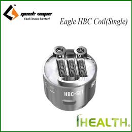 Wholesale Original Eagle - GeekVape HBC Coil for Eagle Sub Ohm Tank Replaceable Coil Head HBC S01 S02 S03 S05 S05 S07 S08 S09 S11 S12 D01 D02 D03 D04 D05 100% Original