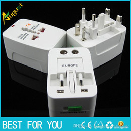 Wholesale Gb Converter - Travel abroad travel universal conversion plug socket Global power converter British standard European standard American standard gb