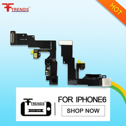 "Wholesale Original Iphone Flex Cable - for iPhone 6 Front Facing Camera Proximity Light Sensor Flex Ribbon Cable 4.7"" High Quality Original 100% Tested Dropshipping"