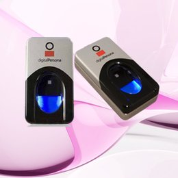 Scanner biométrico de impressões digitais on-line-Atacado-Frete Grátis USB Biométrico Scanner de Impressão Digital Leitor de Impressão Digital Persona Digital u.are.u 4500 leitor de impressões digitais