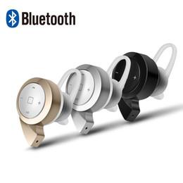 Wholesale Laptop Wireless Earphones - Wholesale-Wireless Bluetooth Earphone Headphone Headset 3 Color Mini for Mobile Phone PC Laptop Handsfree Earphone t-A8