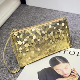 telefone para mulheres Desconto Moda bolsa de lantejoulas de couro das mulheres saco de embreagem bolsa bolsa da moeda bolsa de crocodilo saco do telefone móvel de embreagem para iphone 6 s plus 7