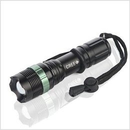 Wholesale Torche Ultrafire - HOT Cree Q5 LED Flashlight Lampe Torche Zoomable 3-Mode LED Flash Light Torch Lamp Powerful Linterna LED Lanterna Tatica SA9