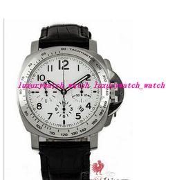 Wholesale Daylight Watch - Luxury Watches Fashion watch P188 Daylight Chronograph G Series 44mm White Dial Steel MEN WATCH Automatic Movement Watch Men's Wristwatches