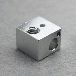 Wholesale Hot End Printer - 3d printer accessories all-metal E3D hot end heat block aluminum with oxidation treatment 1503554