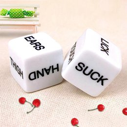 Wholesale Love Toys Couples - 1 Pair Sex Toys Couples Adult Love Erotic Game Dice Bachelor Party Novelty Gift