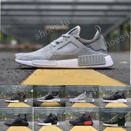 Wholesale Black Waterproof Shoes - NMD XR1 boost runner PK Mastermind Japan Triple Black White Blue Duck Camo Pack Olive Mens Women sports running shoes sneakers Eur 36-45