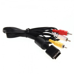 Wholesale Ps2 Hdmi Cables - AV Video Audio Cable for SONY Playstation 2 3 PS2 PS3